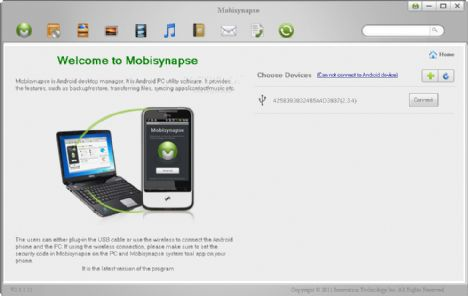 Mobisynapse【Android桌面管理器】